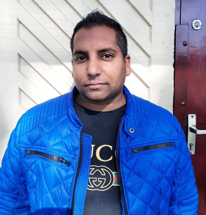 Buurman Rowsen van de Griend, initiatiefnemer van de crowdfunding.