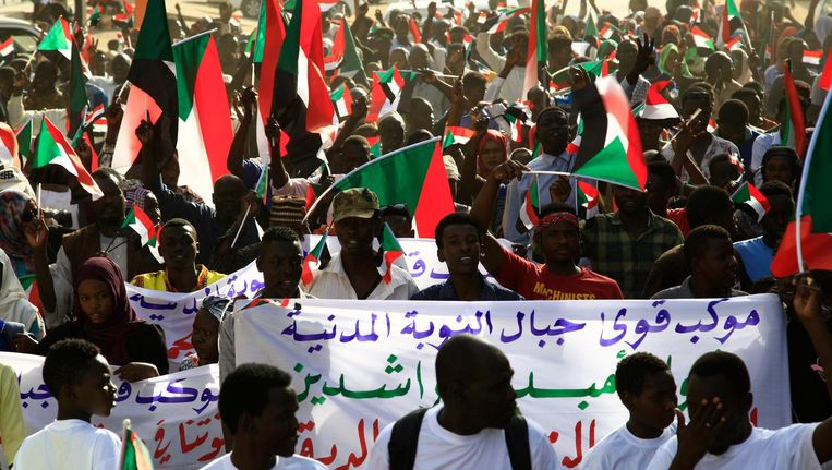 Het is al een lange tijd onrustig in Soedan Beeld ANP