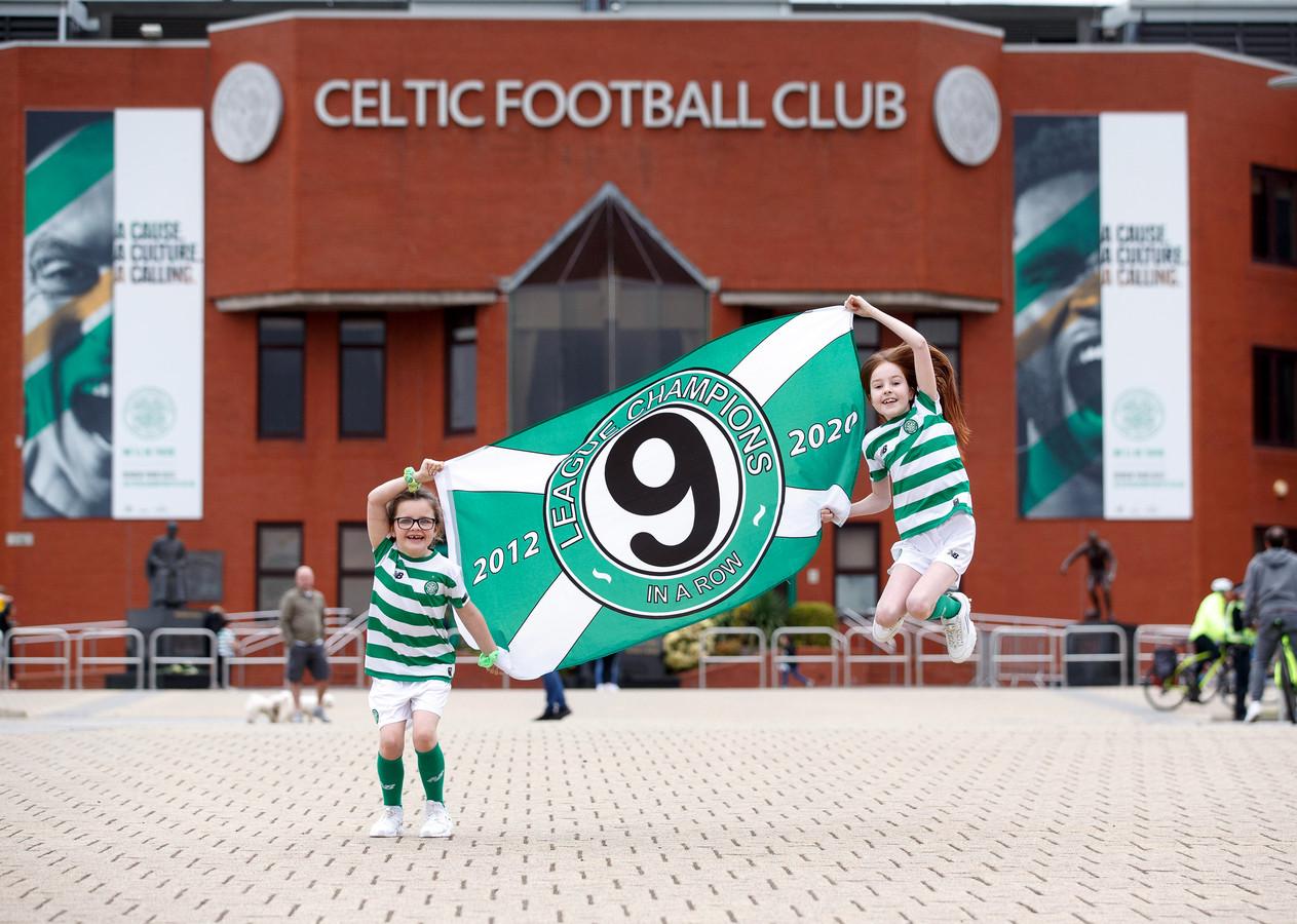 Celtic werd afgelopen voorjaar voor de negende keer op rij kampioen van Schotland.