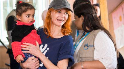 Axelle Red reist naar vluchtelingenkamp