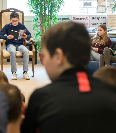 'Je komt door lezen in een andere wereld terecht'