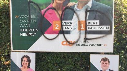"""'DOOD' op verkiezingsaffiches CD&V: """"Stop met die dreigementen"""""""