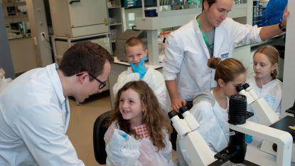 1.500 kinderen proeven van de wetenschap op Kinderuniversiteit