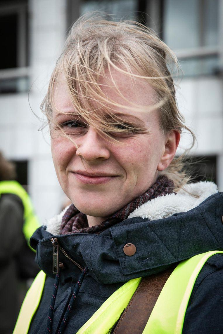 Sietie Bakker (37). Beeld Dingena Mol