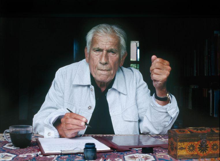 Foto 3: Machelen aan de Leie, 2003. Beeld Eddy Posthuma de Boer