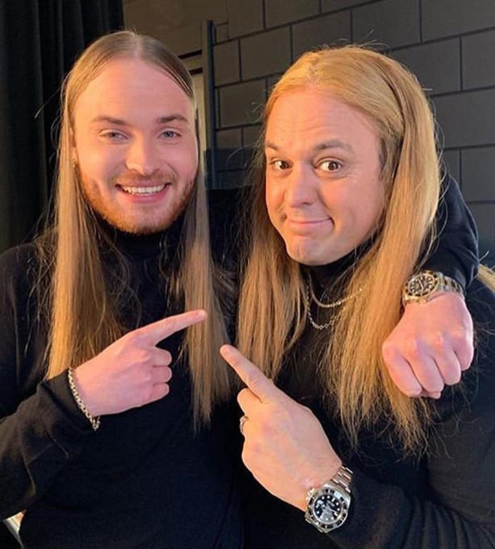 Donnie en Frans Bauer