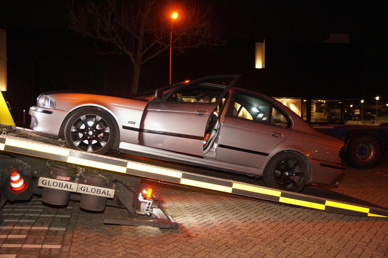 Auto meegenomen