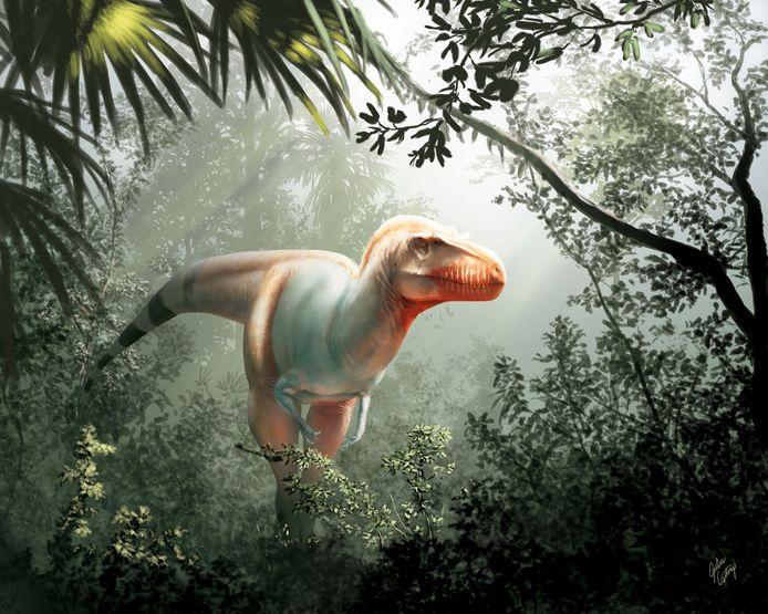 """Surnommé """"le faucheur de la mort"""", """"Thanatotheristes degrootorum"""", se trouvait au sommet de la chaîne alimentaire et pouvait mesurer jusqu'à 8 mètres de long"""