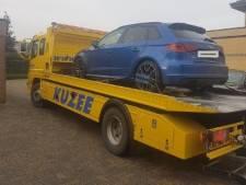 Politie haalt dure Audi weg bij Hulstenaar die verdacht wordt van witwassen