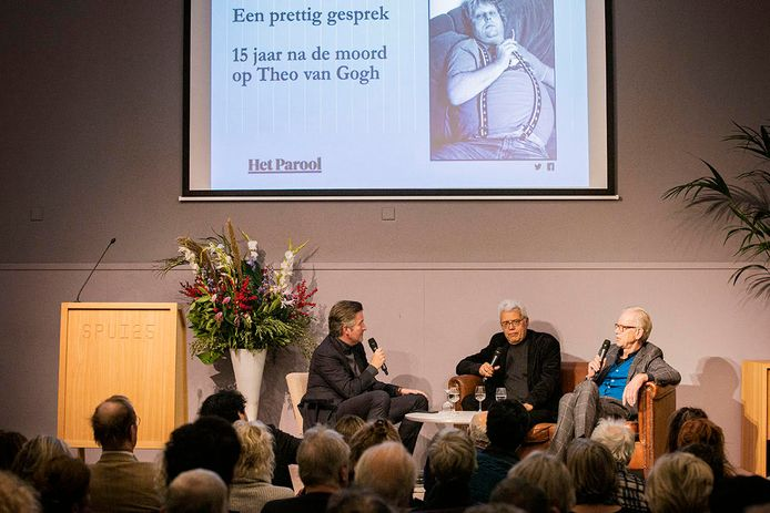 Een prettig gesprek over Theo van Gogh in Spui 25.