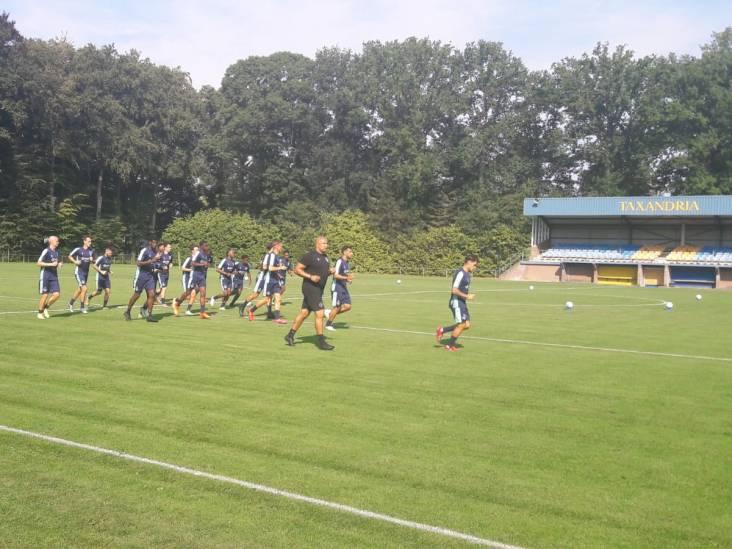Willem II begint zonder trainer Adrie Koster aan trainingskamp in Oisterwijk