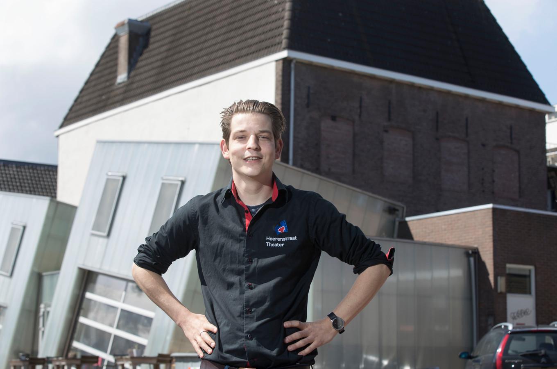 Bedrijfsleider Tom de Bont van het Heerenstraattheater.