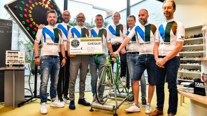 """Twaalf Moernaut Tigers 1.000 kilometer op fiets voor Kom Op Tegen Kanker: """"Want we kennen allemaal iemand die tegen de vreselijke ziekte vocht"""""""