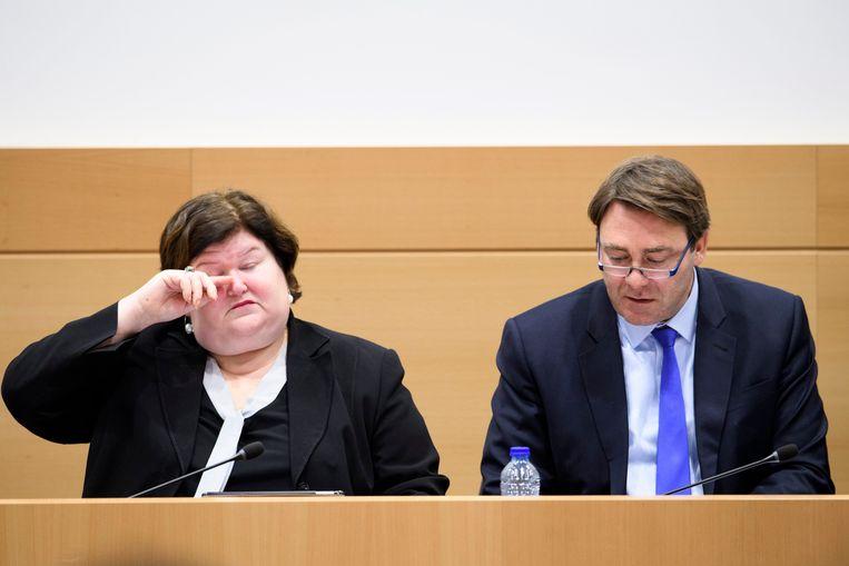 Minister van Volksgezondheid Maggie De Block (Open Vld) en minister van Landbouw Daniel Ducarme (MR).