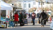 Weinig bezoekers en marktkramers op laatste markt voor het verbod ingaat