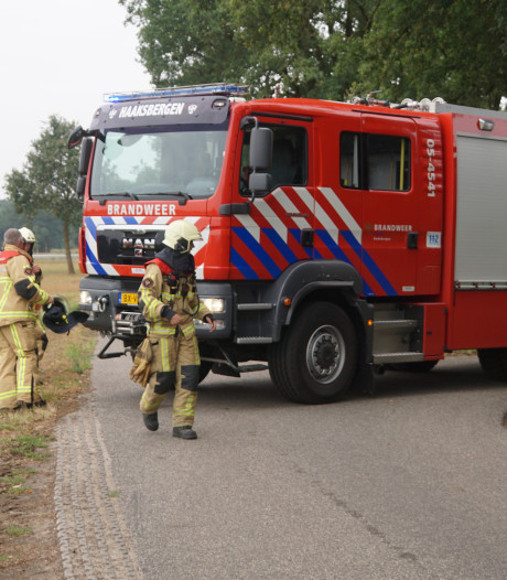 Brandweer rukt uit voor gaslek in Haaksbergen