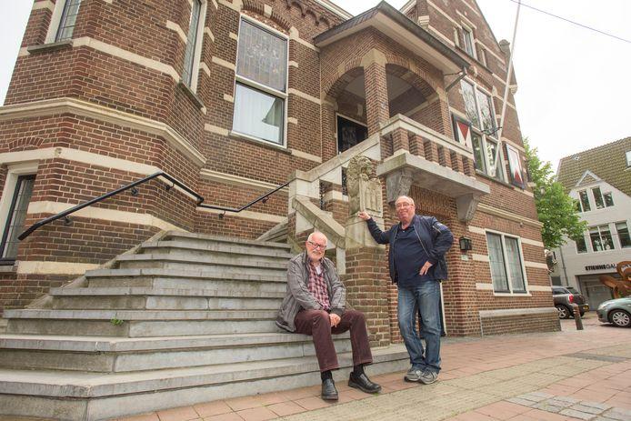 Jan van Doorn (links) en Han Koopmans voeren samen met Ivo Maas de strijd tegen The Inside in Oisterwijk aan.