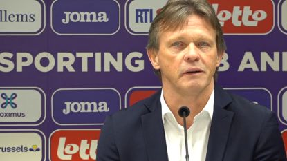 """Frank Vercauteren: """"We praten geen seconde over play-off 1"""""""
