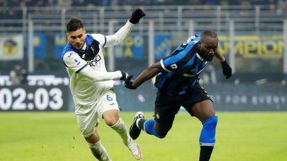 Assist Lukaku levert geen winst op voor Inter, Juventus kan vandaag profiteren