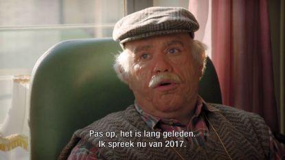Bejaarde Jens Dendoncker presenteert 'Hoe Zal Ik Het Zeggen?'