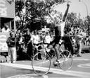 En dat is zes! Mathieu Hermans wint in 1988 ook de slotrit van de Vuelta.