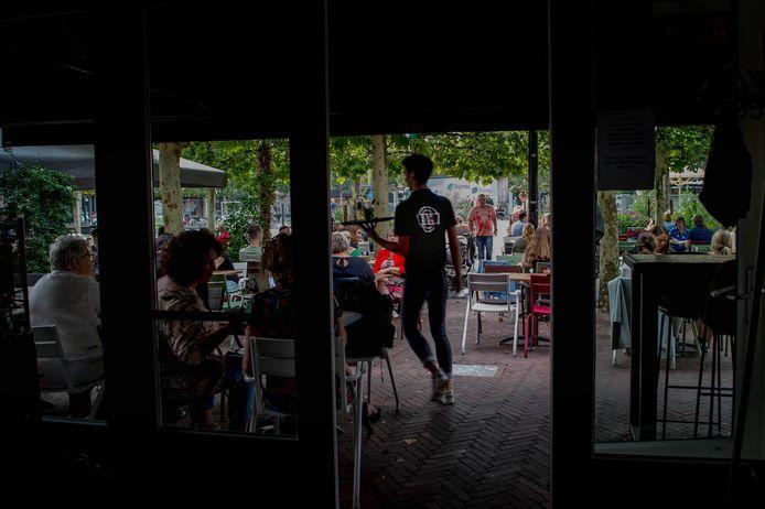 Beeld van restaurant Zaal 4 in Wijchen in betere tijden.