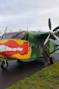 'De vliegende schoenendoos' dropt drie weken lang commando's vanaf Breda Airport