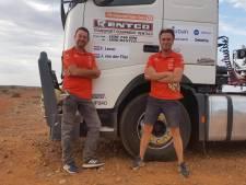 Australische zonnerace eindigt in mineur voor Walcherse vrachtwagenchauffeurs