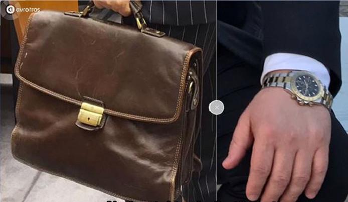 De verdwenen aktetas met slotje en de Rolex.