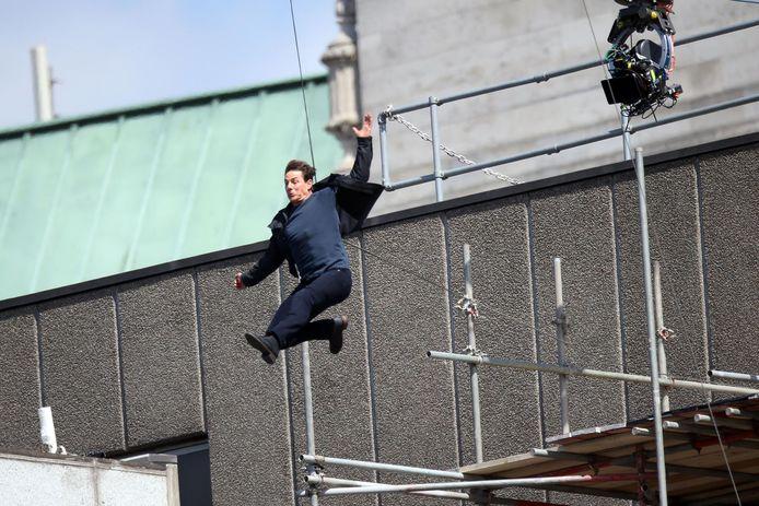 Tom Cruise bracht deze stunt niet tot een goed einde.