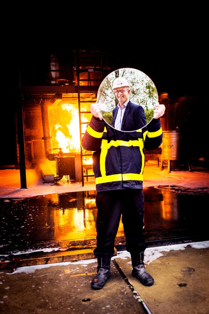 Carlo Post, directeur veiligheidsregio Zuid-Holland-Zuid.