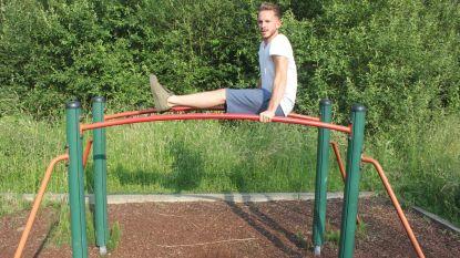 """Graag 'calisthenics' in Zwembadpark"""