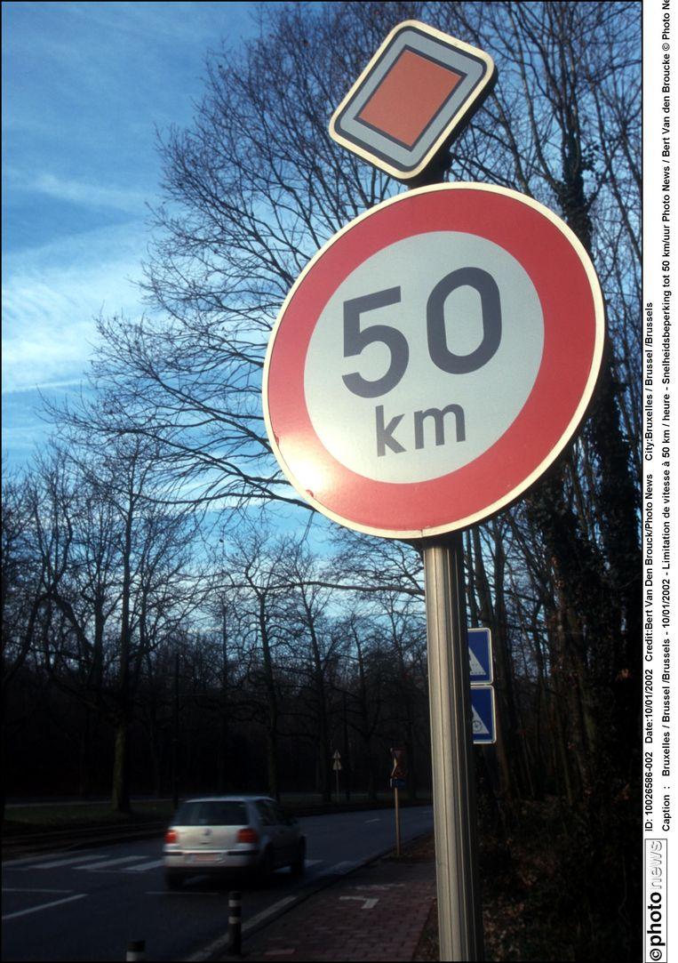In de Glabbeekstraat mag je voortaan nog maar 50 rijden.