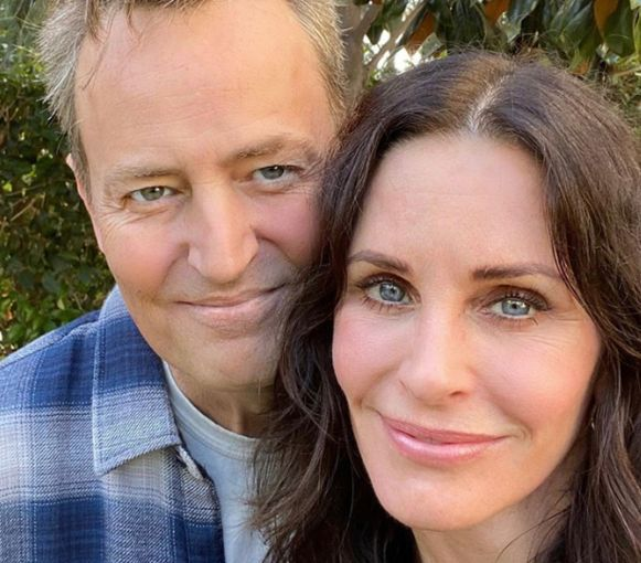 Courtney Cox en Matthew Perry.