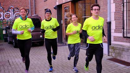 Marathonlopen voor Antwerps Drug Interventie Centrum