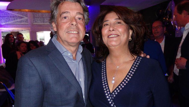 Eigenaar Taco van der Meer en zijn vrouw Shirley. Bijna het eerste hotel in Europa zonder CO2-uitstoot Beeld Schuim