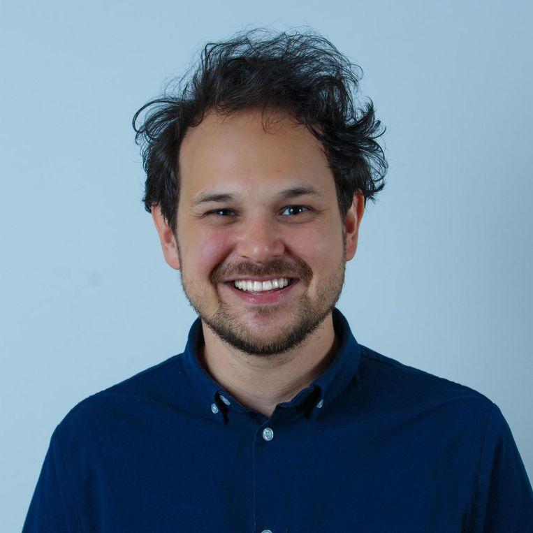 Lorenz van Gool, hoofdredacteur van de website Startup Juncture. Beeld null