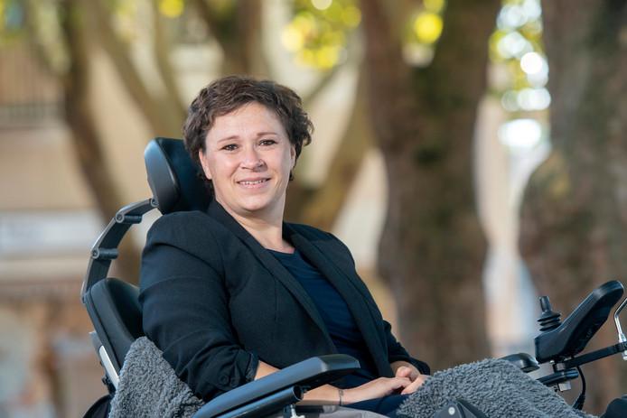 Carla Claassen uit Bemmel, de nummer twee van de Gelderse kieslijst voor de SP.