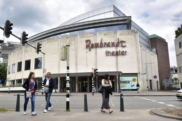 Het Rembrandt Theater aan het Velperplein in Arnhem.