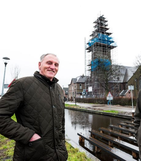 Dit is het slot van de restauratie van toren Hippolytuskerk: steiger verdwijnt na het weekend
