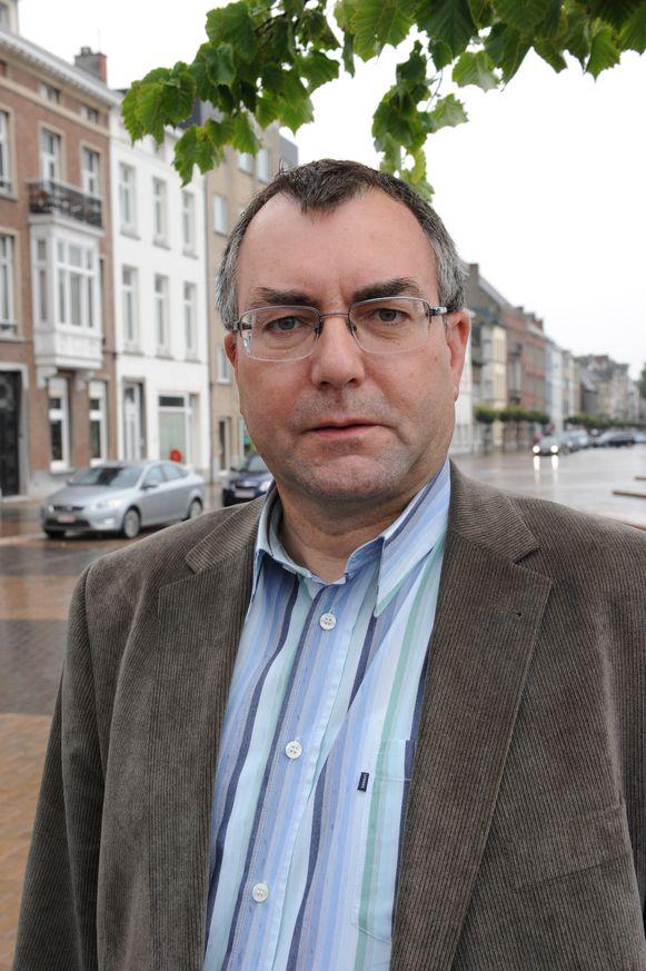 ACV-vakbondsman Freddy De Wilder.