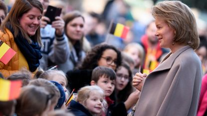 Koningin Mathilde komt naar anti-pestproject Tuinbouwschool Melle