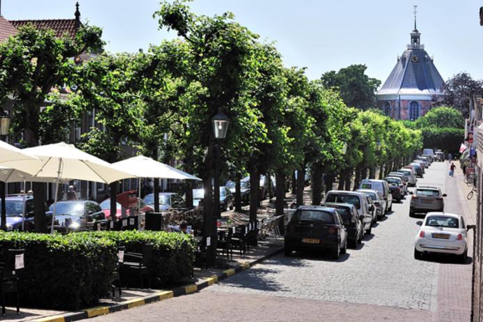 De Voorstraat in Willemstad.