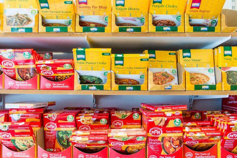 'Als je nog onbekend bent met de Indiase keuken zou ik aanraden hier te beginnen' Beeld Jesper Boot