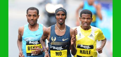Atletiekgrootheden Farah en Gebrselassie ruziën over incident in hotel