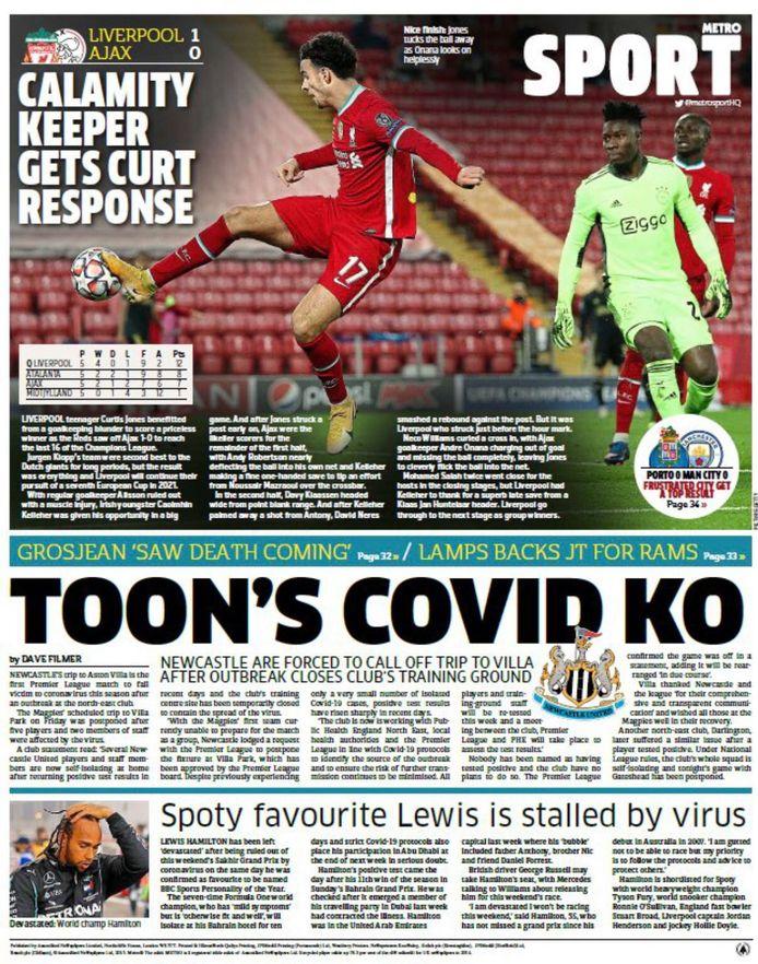 Cover Metro Sport