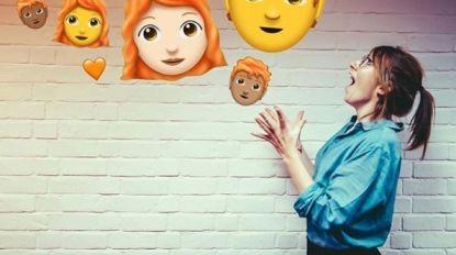 Dit najaar ein-de-lijk op je telefoon: de rosse emoji's (en nóg 150 nieuwe)