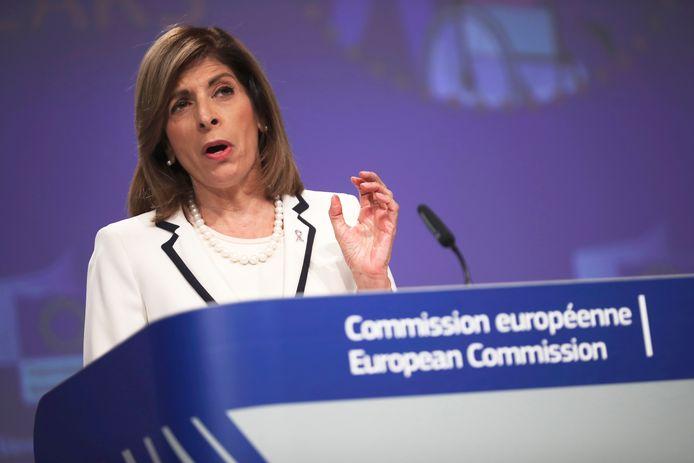 Stella Kyriakides, commissaire européenne à la Santé.