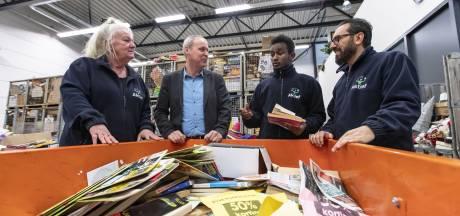 Twaalf statushouders werken én leren bij Achterhoekse kringloopbedrijf Aktief