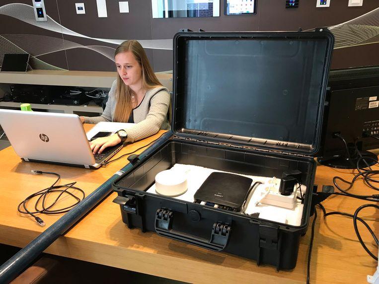 Laura Hondeghem ontwikkelde een zorgkoffer voor mensen met dementie.